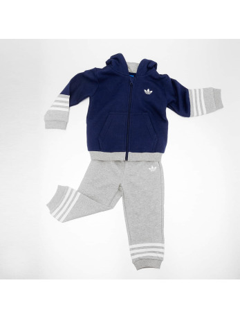 Adidas Fleece HFL Suit Night Sky-Medium Grey Heather