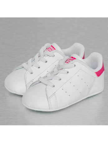 Adidas Stan Smith Crib Sneakers Footwear White-Footwear White-Bold Pink