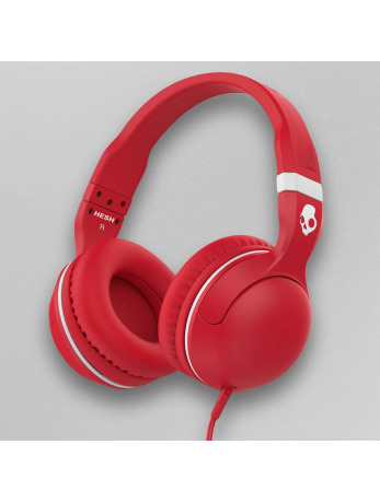 Casques Audio Skullcandy rouge