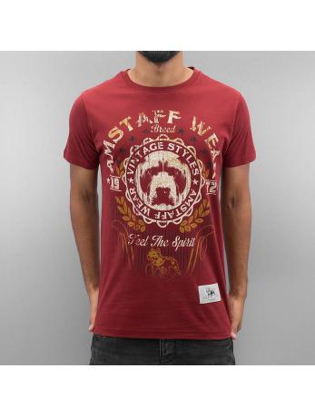 T-Shirts Amstaff rouge