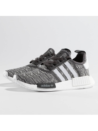 Adidas NMD R1 Sneakers Utility Black-Ftwr White-MG Solid Grey
