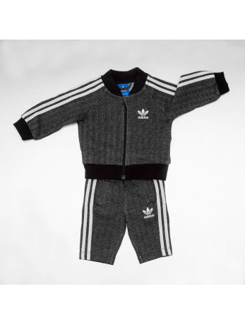 Adidas Superstar Sweat Suit Black-White