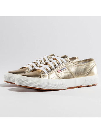 Veterschoen Superga goudkleur