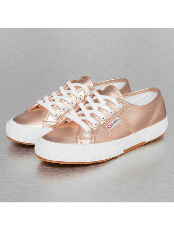 Veterschoen Superga roze metallic