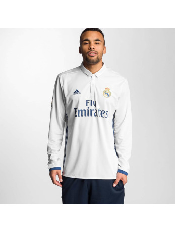 Adidas Real Madrid Home Trikot Crystal White-Raw Purple