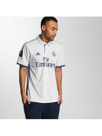 Adidas Real Madrid UCL Trikot Crystal White-Raw Purple