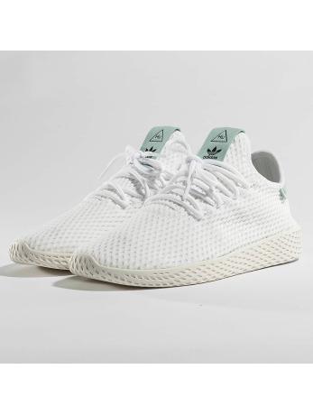 Adidas PW Tennis HU J Sneakers Ftwr White-Ftwr White- Ac Green