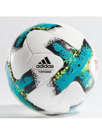 Adidas Torfabrik Official Match Ball White-Energy Blue -Black-Solar Yellow