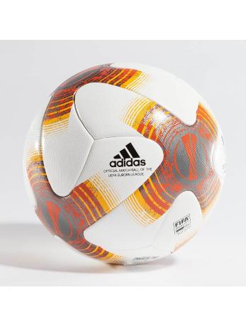 Adidas UEFA Europa League Official Match Ball White-Iron Metalic-Black-Collegiate Orange