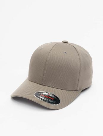 flexfit-manner-frauen-kinder-flexfitted-cap-wooly-combed-in-grau
