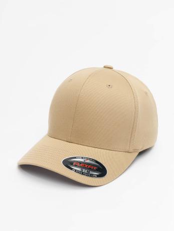 flexfit-manner-frauen-kinder-flexfitted-cap-wooly-combed-in-khaki
