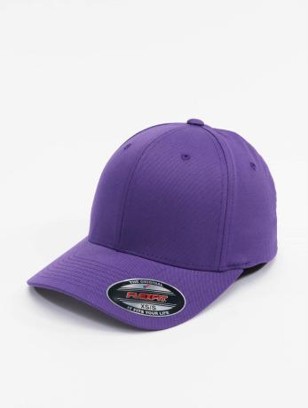 flexfit-manner-frauen-kinder-flexfitted-cap-wooly-combed-in-violet