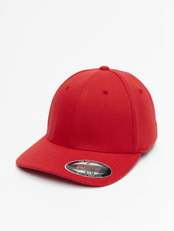 flexfit-manner-frauen-flexfitted-cap-double-jersey-in-rot