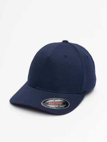flexfit-manner-frauen-flexfitted-cap-5-panel-in-blau