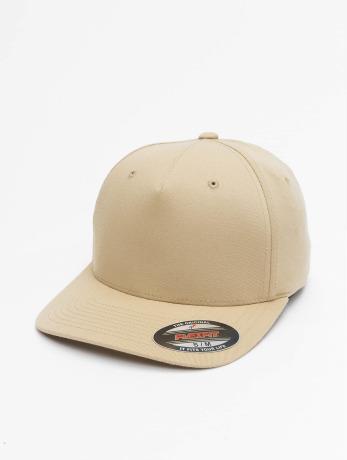 flexfit-manner-frauen-flexfitted-cap-5-panel-in-khaki