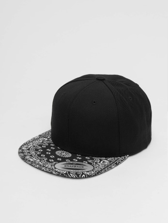 flexfit-manner-frauen-snapback-cap-bandana-in-schwarz