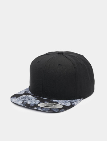 flexfit-manner-frauen-snapback-cap-roses-in-schwarz