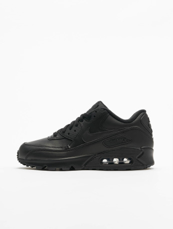 nike-manner-sneaker-air-max-90-leather-in-schwarz