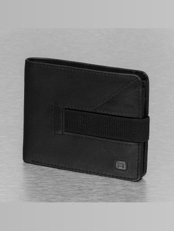reell-jeans-manner-geldbeutel-strap-leather-in-schwarz