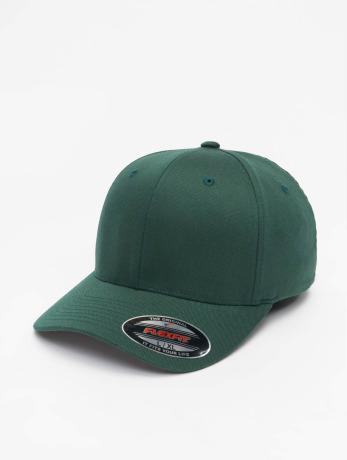 flexfit-manner-frauen-flexfitted-cap-wooly-combed-in-grun