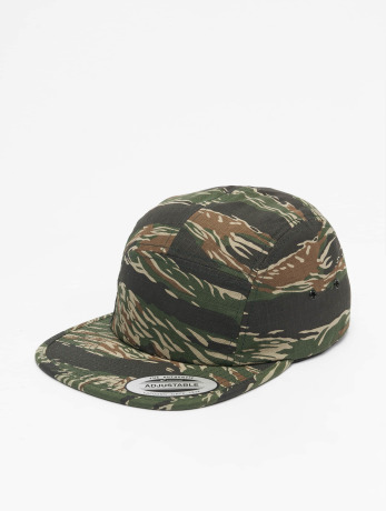 flexfit-manner-frauen-5-panel-caps-classic-jockey-in-camouflage