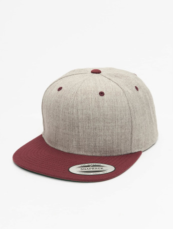 flexfit-manner-frauen-snapback-cap-classic-two-tone-in-grau