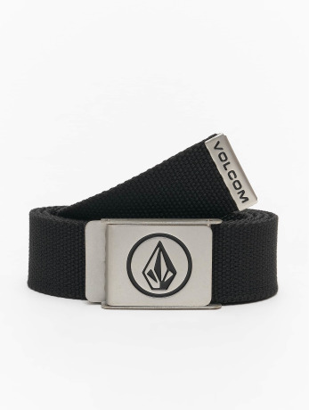 volcom-manner-gurtel-circle-web-in-schwarz