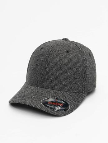 flexfit-manner-flexfitted-cap-melange-in-schwarz