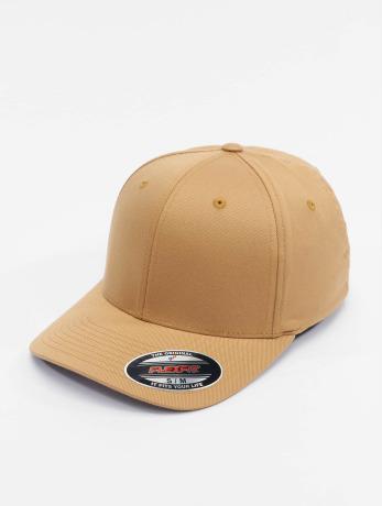 flexfit-manner-frauen-flexfitted-cap-wooly-combed-in-beige