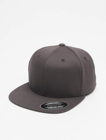 flexfit-manner-frauen-flexfitted-cap-flat-visor-in-grau