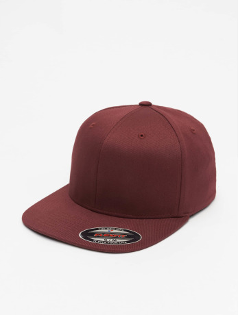 flexfit-manner-frauen-flexfitted-cap-flat-visor-in-rot