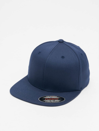 flexfit-manner-frauen-flexfitted-cap-flat-visor-in-blau