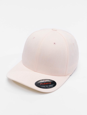 flexfit-manner-frauen-flexfitted-cap-pastel-melange-in-rosa