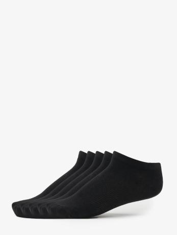 urban-classics-no-show-5-pack-socks-black