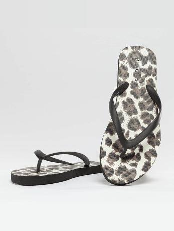 pieces-psvera-sandal-leopard-black