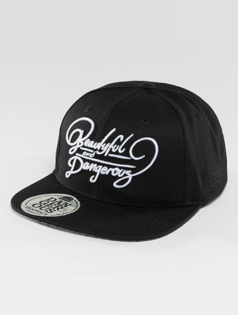dangerous-dngrs-manner-frauen-snapback-cap-beautiful-in-schwarz