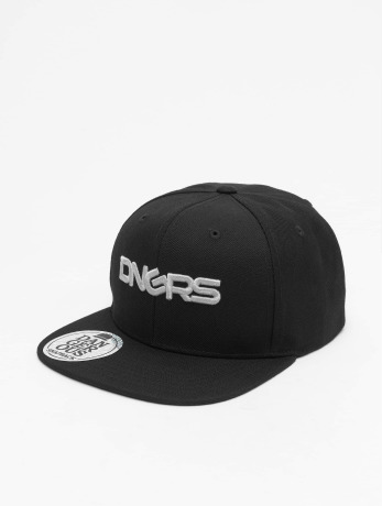 dangerous-dngrs-manner-snapback-cap-logo-in-schwarz