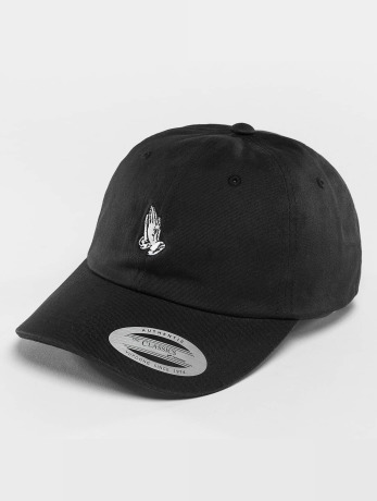 mister-tee-pray-hands-dad-snapback-cap-black