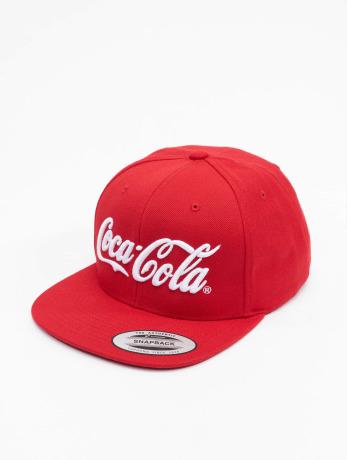 merchcode-manner-frauen-snapback-cap-coca-cola-logo-in-rot