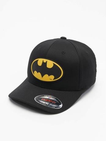 merchcode-manner-frauen-flexfitted-cap-batman-in-schwarz