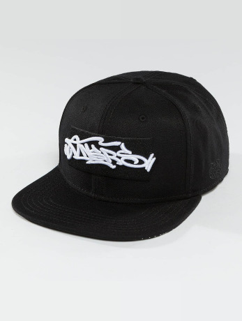dangerous-dngrs-manner-frauen-snapback-cap-topping-in-schwarz