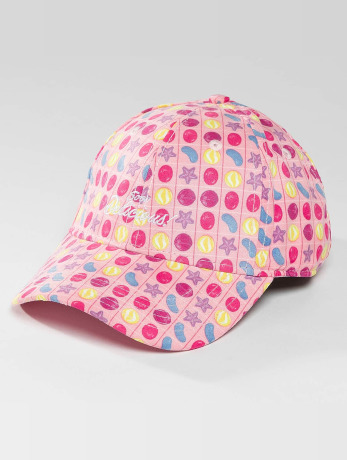 hands-of-gold-manner-frauen-snapback-cap-soo-delicious-curved-in-pink