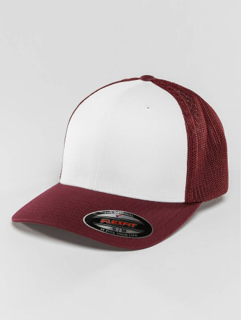 flexfit-manner-frauen-flexfitted-cap-mesh-colored-front-in-rot