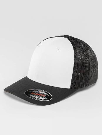 flexfit-manner-frauen-flexfitted-cap-mesh-colored-in-schwarz