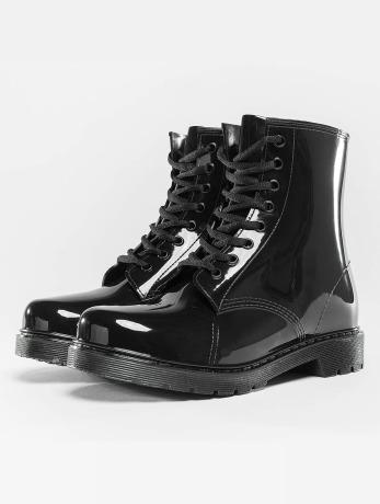 urban-classics-laced-rain-boots-black