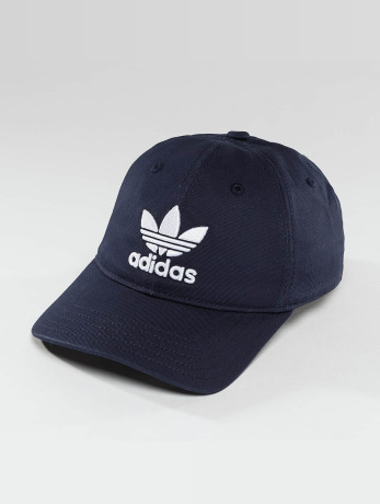 adidas-manner-frauen-flexfitted-cap-trefoil-cap-in-blau