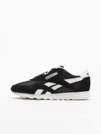 reebok-frauen-sneaker-classic-nylon-in-schwarz