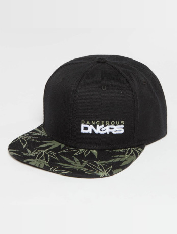 dangerous-dngrs-manner-frauen-snapback-cap-health-in-schwarz