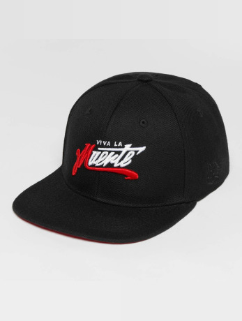 dangerous-dngrs-manner-frauen-snapback-cap-muerte-in-schwarz
