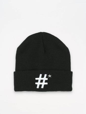 truespin-manner-frauen-beanie-hashtag-in-schwarz